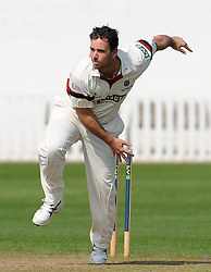 Somerset's Jim Allenby.  - Photo mandatory by-line: Harry Trump/JMP - Mobile: 07966 386802 - 08/04/15 - SPORT - CRICKET - Pre Season - Somerset v Lancashire - Day 2 - The County Ground, Taunton, England.