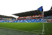The Cardiff City Stadium before the Sky Bet Championship match between Cardiff City and Reading at the Cardiff City Stadium, Cardiff, Wales on 7 November 2015. Photo by Jemma Phillips.