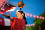 O-Bon Dance Festival 10 July 2015 at the Mantokuji Soto Mission of Paia a Buddhist temple of Japanese Soto Zen Lineage