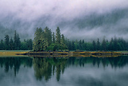 Inside Passage in morning mist