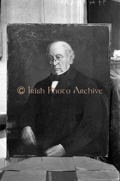 02/10/1962<br /> 10/02/1962<br /> 02 October 1962<br /> Photographs of portraits at Mr Gorry's Studio, Molesworth Street, Dublin for John Power and Son.
