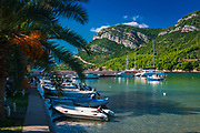 Boats in the marina, Zuljana, Dalmatia, Croatia