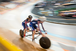, USA, Sprint Qualifiers, 2015 UCI Para-Cycling Track World Championships, Apeldoorn, Netherlands