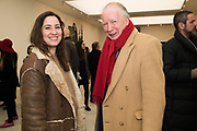 MAGDA SUAREZ; GODFREY BARKER, Opening of Known Unknowns, Saatchi Gallery, Chelsea. London. 20 March 2018