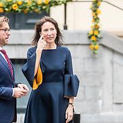 NLD/Den Haag/20161011 - Catherine, hertogin van Cambridge, Kate Middleton, bezoekt het Mauritshuis in Den Haag, directie Mauritshuis