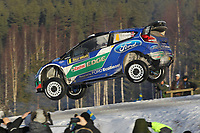 MOTORSPORT - WORLD RALLY CHAMPIONSHIP 2012 - RALLY SWEDEN / RALLYE DE SUEDE - 08 TO 12/02/2012 - KARLSTAD (SWE) - PHOTO : FRANCOIS BAUDIN /  DPPI - 04	FORD WRT / SOLBERG Petter - PATTERSON Chris / FORD FIESTA - WRC / Action