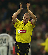 28/02/2004  -  Nationwide Div 1 Watford v Wimbledon.Sean Dyche
