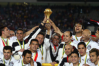 Fotball<br /> Foto: Dppi/Digitalsport<br /> NORWAY ONLY<br /> <br /> FOOTBALL - AFRICAN CUP OF NATIONS 2006 - FINAL - 060210 - EGYPT v IVORY COAST / ELFENBENSKYSTEN - EGYPT TEAM CELEBRATION AFTER THE AFRICAN NATIONS CUP WINNING