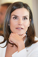 051619 Queen Letizia attends a Meeting with the Foundation for Help Against Drug Addiction