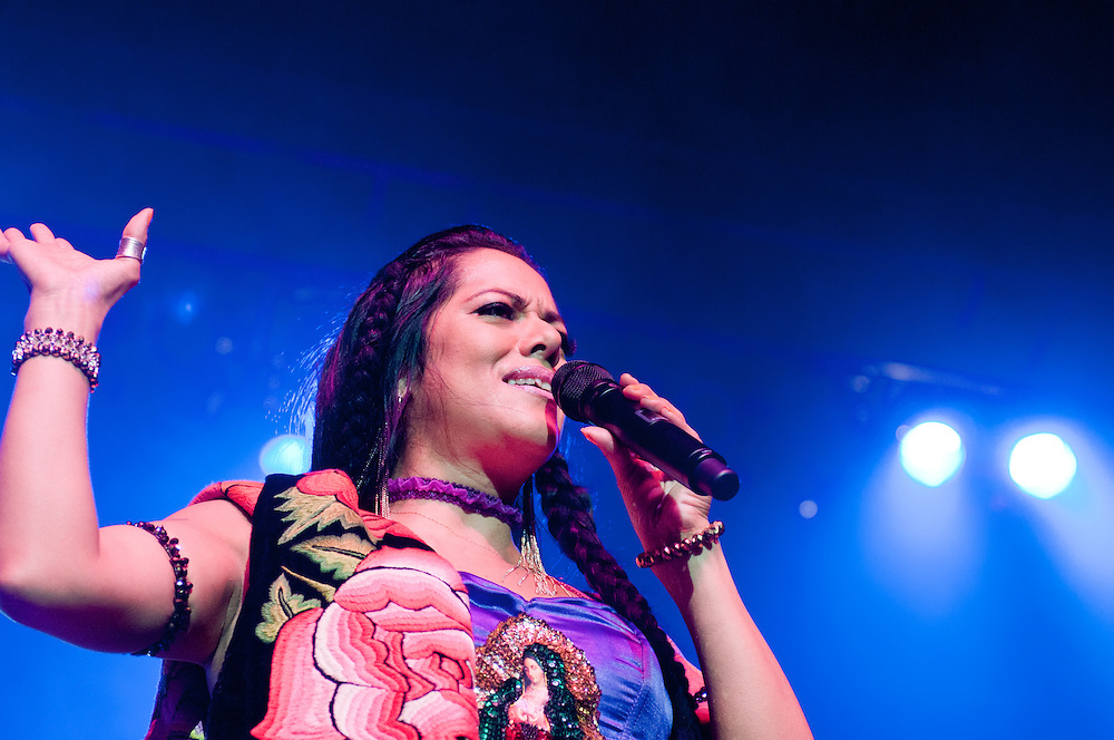 Lila Downs at The Congress Theater, 3/3/12