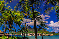 Four Seasons Resort Bora Bora, French Polynesia.