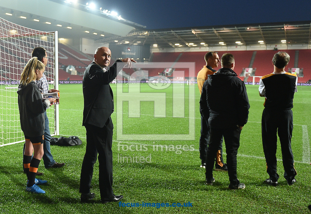 Hull City Tigers manager Mike Phelan prior to the EFL Cup match at Ashton Gate, Bristol<br /> Picture by Daniel Hambury/Focus Images Ltd +44 7813 022858<br /> 25/10/2016