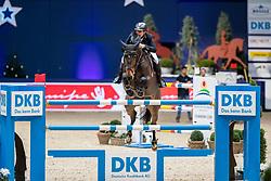 KÖHLBRANDT Torben (GER), Miss Bubbles  <br /> München - Munich Indoors 2018<br /> Grosser Preis der Deutschen Kreditbank AG - Stechen<br /> Finale DKB-Riders Tour<br /> 25. November 2018<br /> © www.sportfotos-lafrentz.de/Stefan Lafrentz