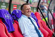ALKMAAR - 15-09-2016, AZ - Dundalk FC, AFAS Stadion, AZ trainer John van den Brom.