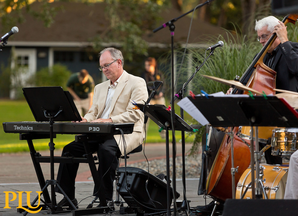 Special Jazz Under the Stars at Gonyea celebrating the 75th the house's 75 year on Thursday, Aug. 21, 2014. (Photo/John Froschauer)