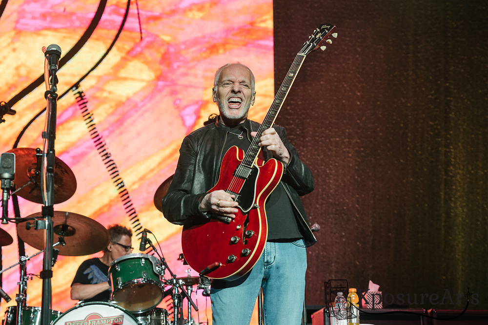 Peter Frampton plays his final show in his farewell tour at Concord Pavilion in Concord, CA.