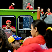 TODO 11 TIENE SU 13<br /> Photography by Aaron Sosa<br /> Caracas - Venezuela 2007<br /> (Copyright © Aaron Sosa)<br /> <br /> Reportaje realizado en la concetración oficialista a 5 años del fallido golpe de estado al presidente Chavez