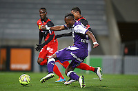 Goal Tongo Doumbia - 20.12.2014 - Toulouse / Guingamp - 19eme journee de Ligue 1 <br /> Photo : Manuel Blondeau / Icon Sport