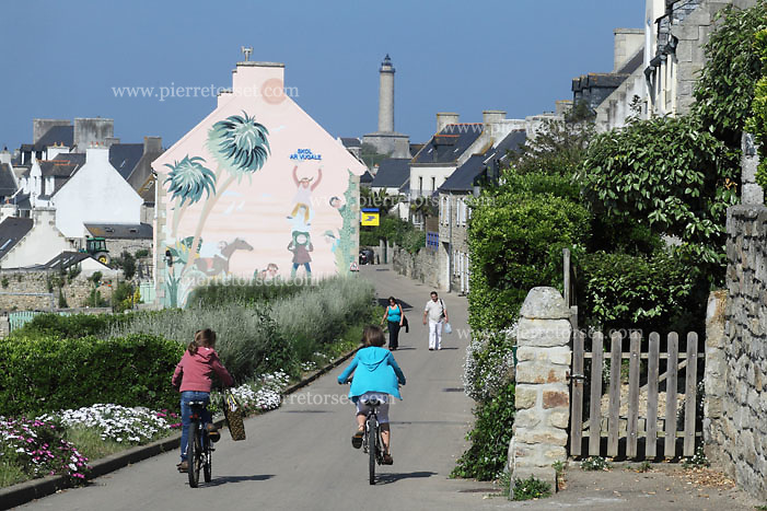 Batz island, near Roscoff (Finistère, Brittany, France).