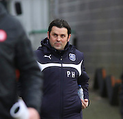 Dundee manager Paul Hartley -  Dundee v Hamilton Academical, SPFL Premiership at Dens Park <br /> <br /> <br />  - &copy; David Young - www.davidyoungphoto.co.uk - email: davidyoungphoto@gmail.com