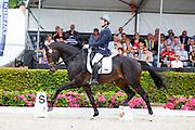 Evgenii Sharangovich - Kartsevo Hummer<br /> Longines FEI/WBFSH World Breeding Dressage Championships for Young Horses 2016<br /> © DigiShots