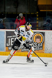 08.01.2017, Ice Rink, Znojmo, CZE, EBEL, HC Orli Znojmo vs Dornbirner Eishockey Club, 41. Runde, im Bild Kevin Schmidt (Dornbirner) // during the Erste Bank Icehockey League 41th round match between HC Orli Znojmo and Dornbirner Eishockey Club at the Ice Rink in Znojmo, Czech Republic on 2017/01/08. EXPA Pictures © 2017, PhotoCredit: EXPA/ Rostislav Pfeffer