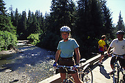 Biking, Juneau, Alaska<br />
