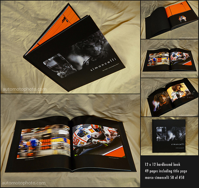 """Marco """"SuperSic"""" Simoncelli 58 of #58 Tribute Book"""