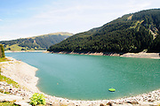 Funsingau Dam and power plant Near Gerlos Pass, Zillertal, Tirol, Austria