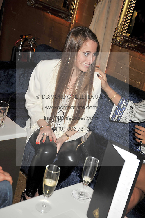 ROSIE FORTESCUE at the launch party of the new Embargo 59 nightclub at 533 Kings Road, London on 25th June 2009.