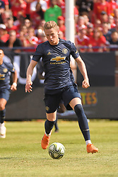 July 28, 2018 - Ann Arbor, MI, U.S. - ANN ARBOR, MI - JULY 28: Manchester United Midfielder Scott McTominay (39) in action during the ICC soccer match between Manchester United FC and Liverpool FC on July 28, 2018 at Michigan Stadium in Ann Arbor, MI. (Photo by Allan Dranberg/Icon Sportswire) (Credit Image: © Allan Dranberg/Icon SMI via ZUMA Press)