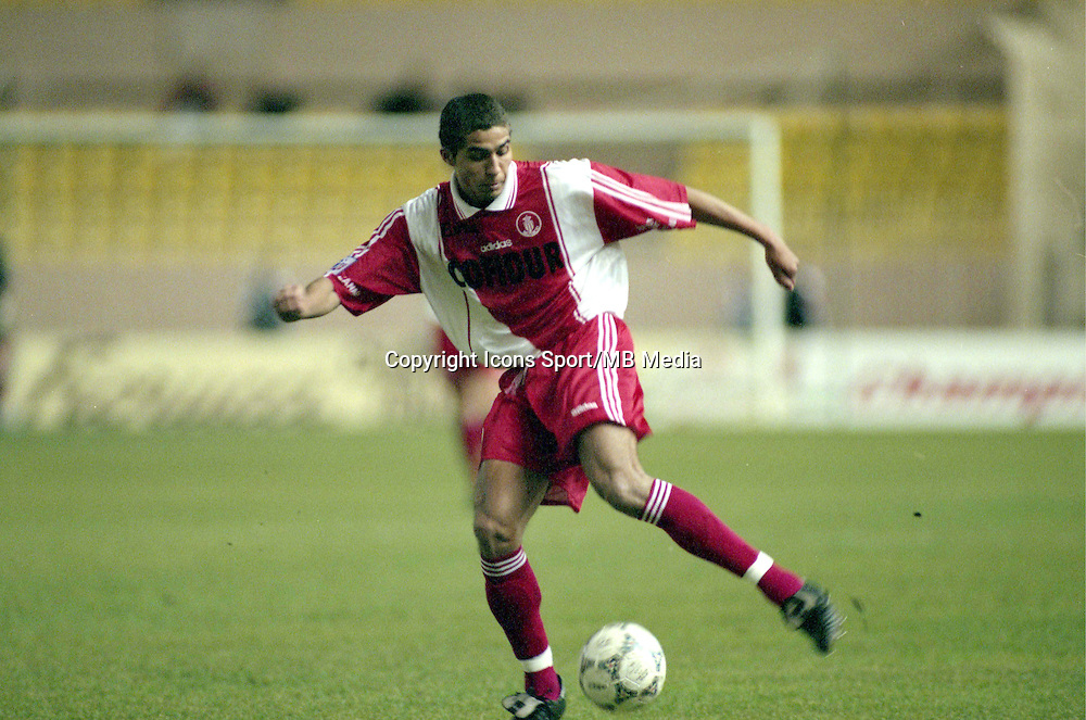 David Trezeguet - 14.12.1997 - Monaco / Rennes - Ligue 1<br />
