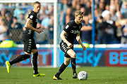 Leeds United midfielder Eunan O'Kane (14) in action  during the EFL Sky Bet Championship match between Sheffield Wednesday and Leeds United at Hillsborough, Sheffield, England on 1 October 2017. Photo by Simon Davies.