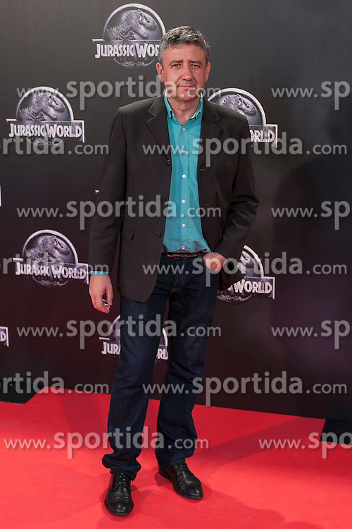 11.06.2015, Madrid, ESP, Jurassic World, Premiere, im Bild Ramon Aranguena // attends // to the Jurassic World film premiere in Madrid, Spain on 2015/06/11. EXPA Pictures &copy; 2015, PhotoCredit: EXPA/ Alterphotos/ Victor Blanco<br /> <br /> *****ATTENTION - OUT of ESP, SUI*****