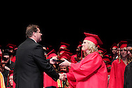 Amanda Marie Stewart receives her diploma during the 102nd commencement of West Carrollton High School at the Schuster Center in downtown Dayton, Thursday, May 24, 2012.