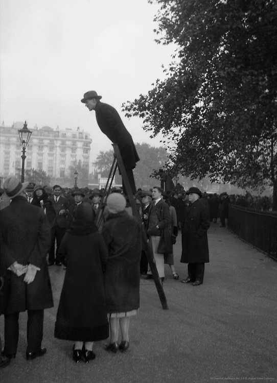 Hyde Park Orator on Political Socialist, London, 1933