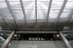 The Dexia Bank's headquarters building in Brussels, Belgium, Monday, Sept, 29, 2008. (Photo © Jock Fistick)