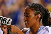 Ajee Wilson (USA) winner of the Women's 800m during the IAAF Diamond League event at the King Baudouin Stadium, Brussels, Belgium on 6 September 2019.