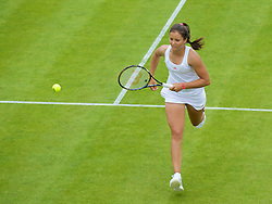 LONDON, ENGLAND - Monday, June 22, 2009: Laura Robson (GBR) during day one of the Wimbledon Lawn Tennis Championships at the All England Lawn Tennis and Croquet Club. (Pic by David Rawcliffe/Propaganda)