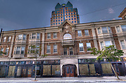 Images of the outside of the Hotel Victorian, Vancouver BC
