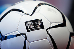 A FIFA7s ball, on February 9, 2005, Ljubljana, Slovenia.  (Photo by Vid Ponikvar / Sportida)