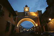 Santa Catarina Arch in Antigua, Guatemala.