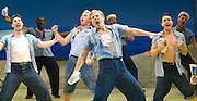 Lincoln Center Theater production of Rodgers &amp; Hammerstein's<br /> <br /> South Pacific <br /> <br /> Directed by Bartlett Sher <br /> <br /> Musical Staging by Christopher Gattelli<br /> Sets by Michael Yeargan<br /> Lighting by Donald Holder<br /> Costumes by Catherine Zuber<br /> Sound by Scott Lehrer<br /> Music Direction by Ted Sperling<br /> Original Orchestrations by Robert Russell Bennett<br /> <br /> at The Barbican Theatre, London, Great Britain <br /> <br /> 22nd August 2011 <br /> <br /> <br /> Chris Jenkins (as Swing)<br /> <br /> Photograph by Elliott Franks
