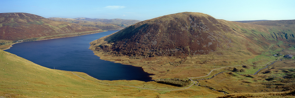 Morning Light over Megget Reservoir in the Scottish Borders