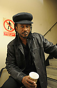 Aswad - Brinsley Forde backstage at Island 50
