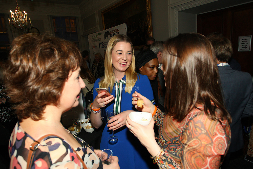 Helping Rhinos Charity evening at the Royal Institute London
