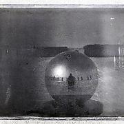 Ceremonial South Pole. Polaroid camera with Fuji instant film.