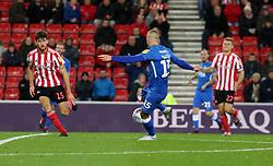 Joe Ward of Peterborough United scores his sides first goal - Mandatory by-line: Joe Dent/JMP - 02/10/2018 - FOOTBALL - Stadium of Light - Sunderland, England - Sunderland v Peterborough United - Sky Bet League One