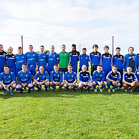Ennis Town Team Shot before their Clare Cup Final in the  County Grounds, Ennis on Saturday