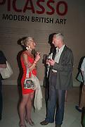 MICKI SCUPIN; PAUL BERROW, Tate Summer party. Tate Britian, Millbank. London. 28 May 2012